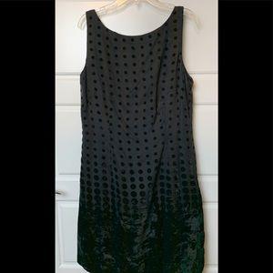 Donna Morgan Petite Little Black Dress NWT size 12